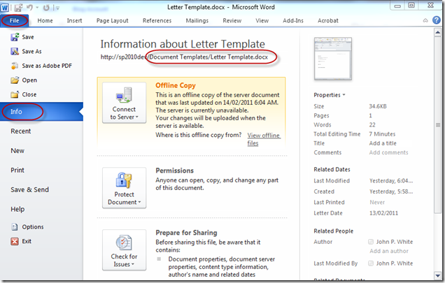 Using Document Templates with Lists and Content Types in ...